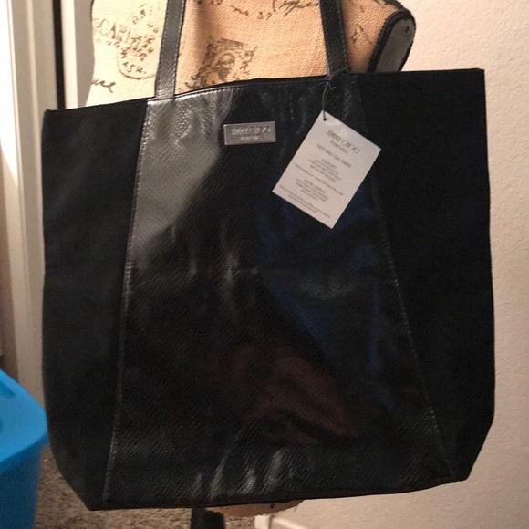 Jimmy Choo Handbags - Jimmy Choo Parfums Large Tote Bag Black